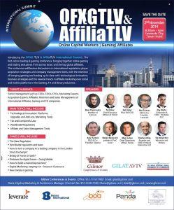 AffiliaTLV Agenda - be there!